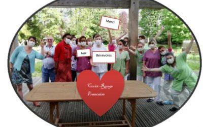 La Croix-Rouge française aux côtés des résidents des EPHAD en Seine-Maritime