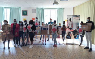 Les étudiants de L'IFCASS œuvrent pour la CROIX-ROUGE de Dieppe